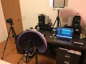 録音、撮影機材一式