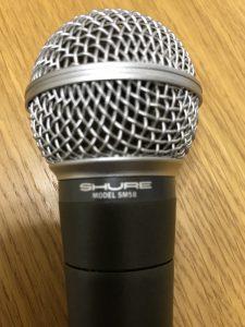 SHURE SM58 ポルシェロゴ